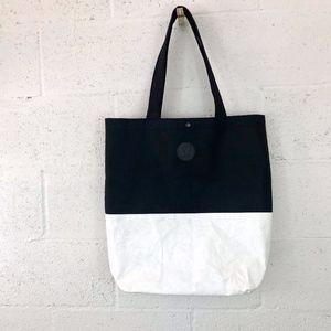 Lululemon Athletica Tote Shoulder Bag Black-White